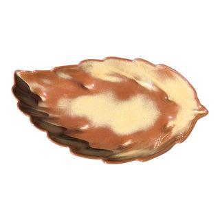 Frankoma Mid Century Leaf Dish