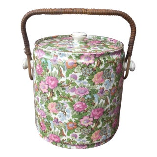 Vintage Chintz Ice Bucket