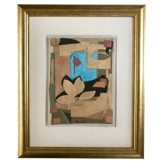 Harold Christopher Davies Abstract Collage