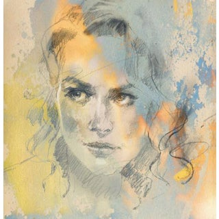 """Sense of a Woman III"" Painting"