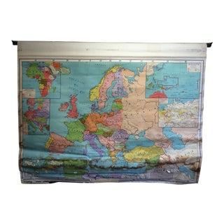 Rand McNally School Map of Europe