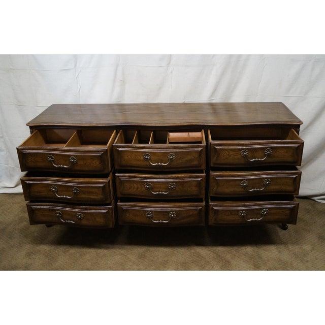 Image of Henredon Four Century French Style Oak Dresser