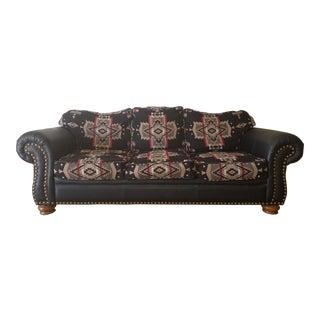 Pendleton Wool Santa Fe Style Southwestern Sofa
