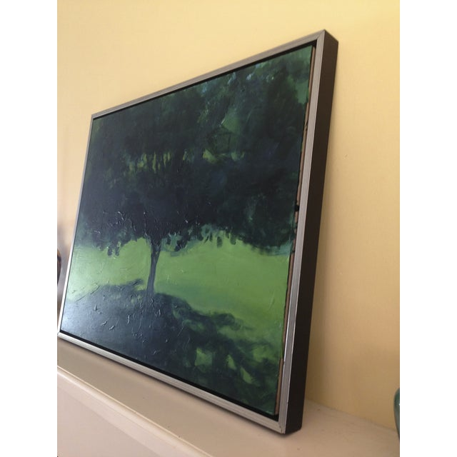 Original Landscape Painting of a Tree in Summer - Image 4 of 6