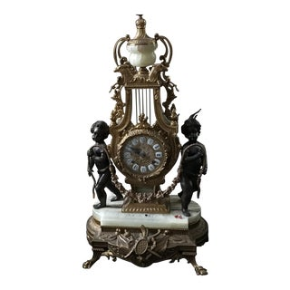 Italian Candelabra Clock