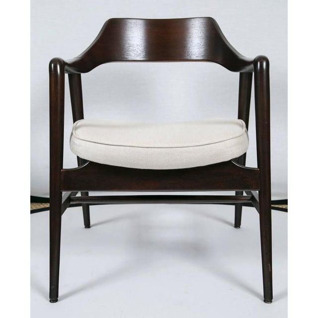 Gunlocke Wood Framed Armchair - Image 2 of 10