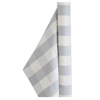 Ian Mankin Avon Check in Grey & White - 3 Yards