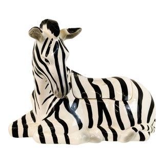 Fitz & Floyd Zebra Tureen