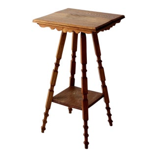 Antique Splay Leg Side Table