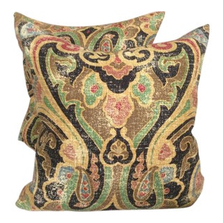 Ralph Lauren Dovima in Black Pillow Covers - a Pair
