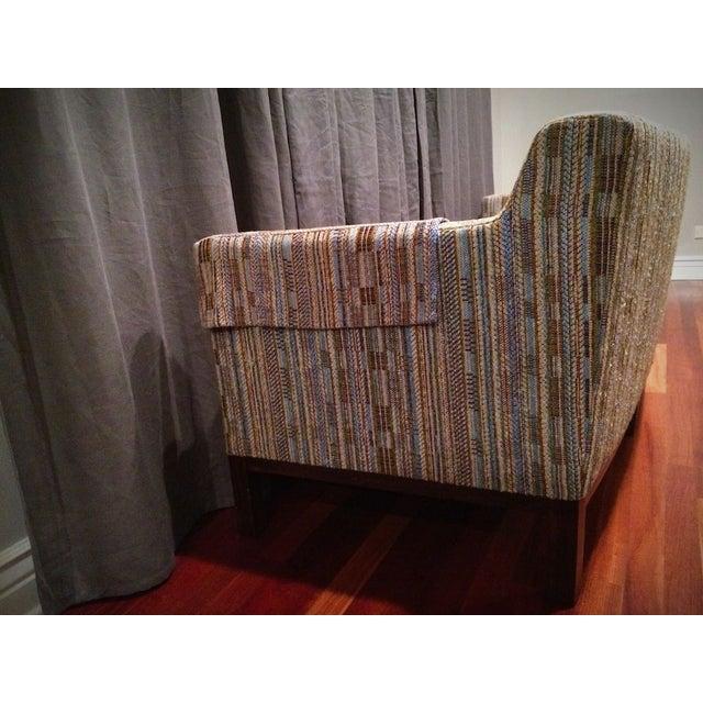 Curved Sofa Atlanta: Dunbar Edward Wormley Curved Sofa