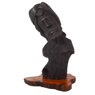 Abstract Large Carving of a Man