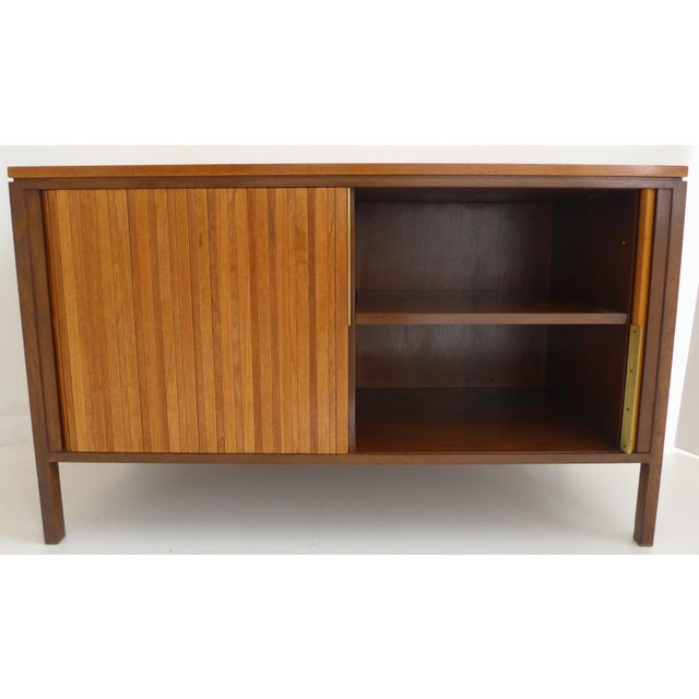 Tambour Front Cabinet by Edward Wormley - Image 7 of 11