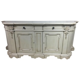 French Style Carved Credenza