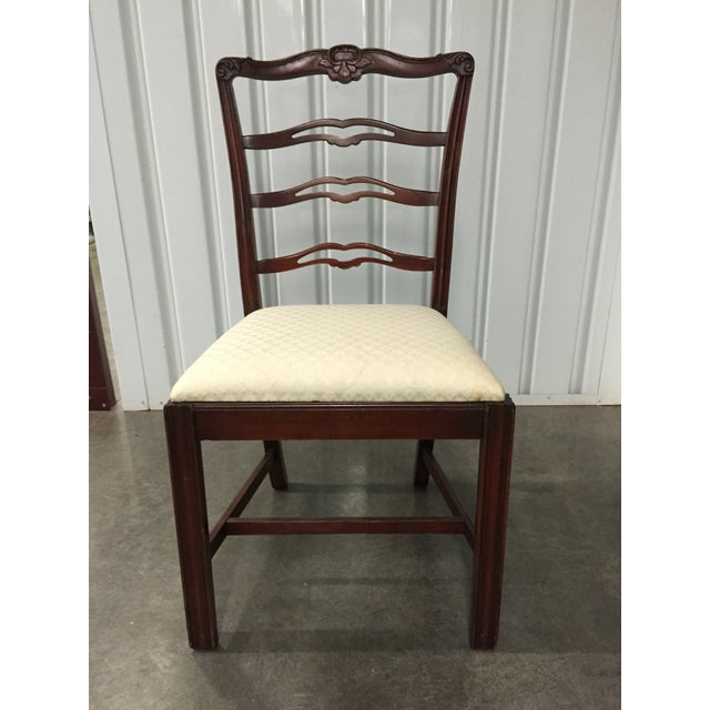 Antique Dining Room Chairs - Set of 5 - Image 2 of 7