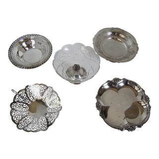 Silverplate Bonbon Servers - S/5