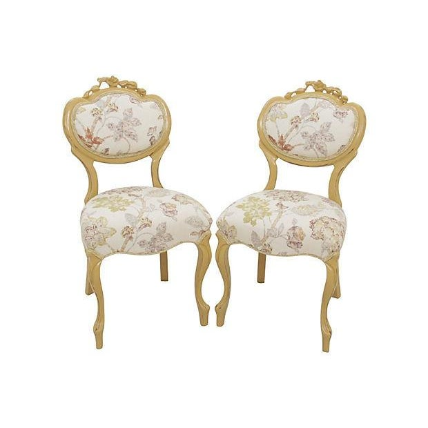 Victorian Balloon-Back Parlor Chairs - A Pair - Image 2 of 7