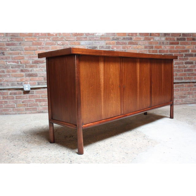 T.H. Robsjohn-Gibbings 'Ming' Walnut Cabinet - Image 2 of 10