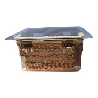 Shipping Basket Coffee Table