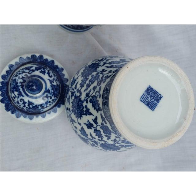 Image of Orientalist Ginger Jars - A Pair