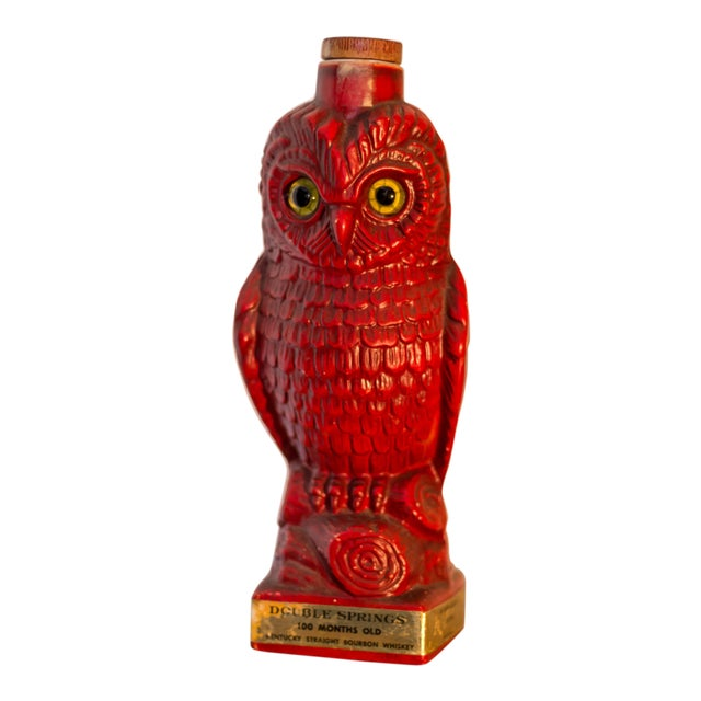 Double Springs Kentucky Bourbon Red Owl Decanter - Image 1 of 6