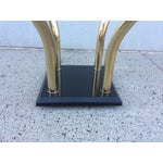 Image of 1970s Modern Brass Side Tables