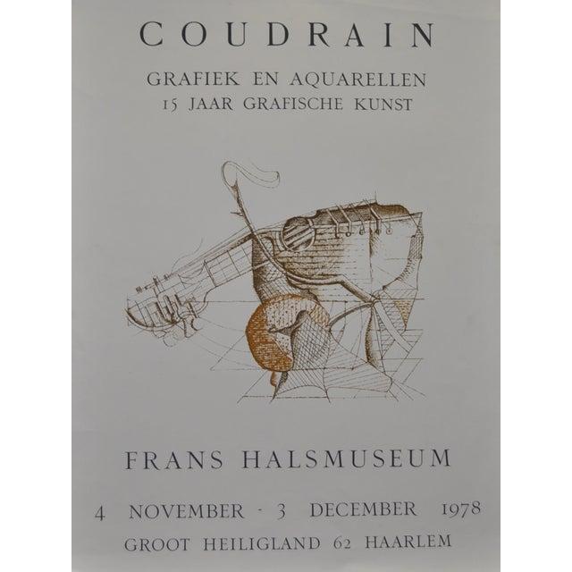 Brigitte Coudrain Vintage Exhibit Lithograph - Image 1 of 3