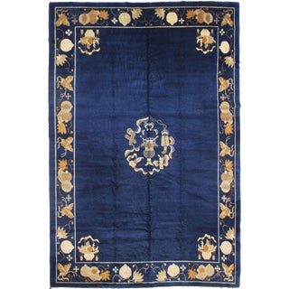 """Hand Knotted Antique Chinese Peking Rug -- 11'6"""" X 8'10"""""""