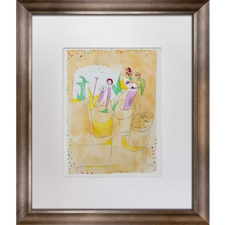 "Paul Klee ""Blumentisch"" Lithograph"