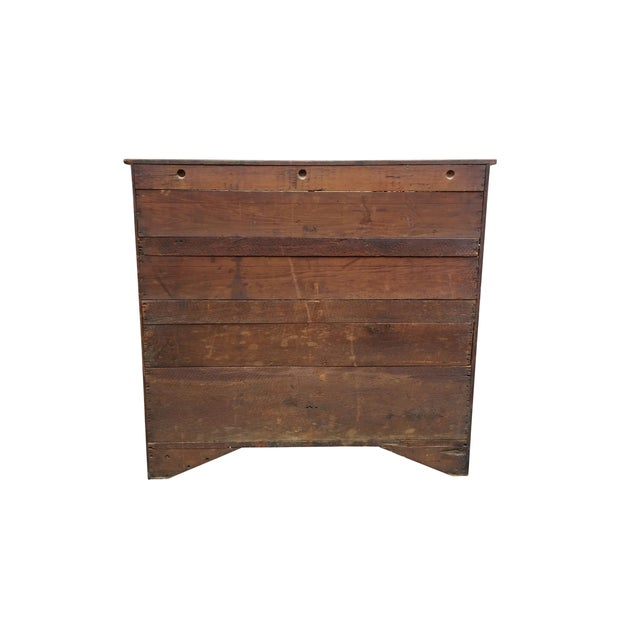 Image of Antique American Craftsman Chest of Drawers