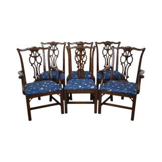 Ethan Allen Georgian Court Dining Chairs - Set of 6
