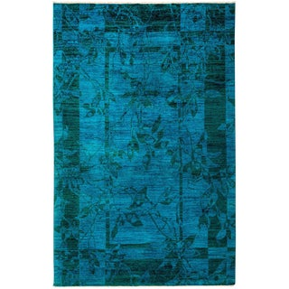 """Vibrance Hand Knotted Area Rug - 5'2"""" X 8'0"""""""