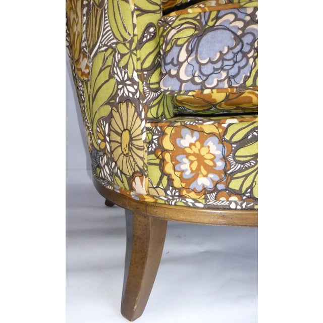 Mid Century Modern Club Chair - Pair - Image 9 of 10