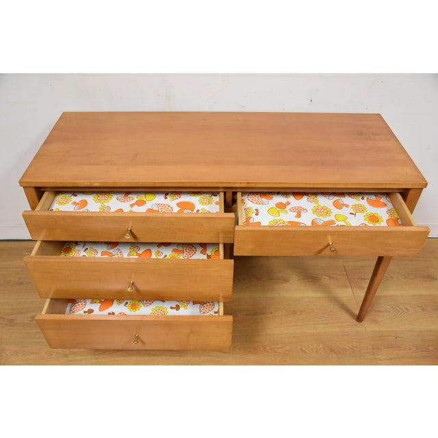Paul McCobb Planner Group Maple Desk - Image 10 of 10