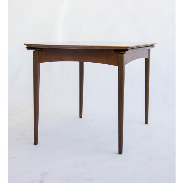 Dux of Sweden Round Drop Leaf Dining Table - Image 6 of 10