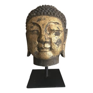 Concrete Buddha Head