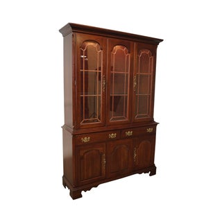 Pennsylvania House Cherry Chippendale Cabinet