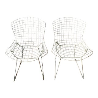 Vintage Bertoia Side Chairs - Set of 4
