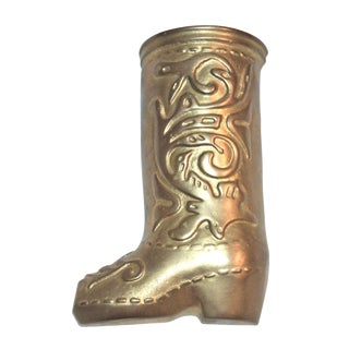 Brass Boot Door Knocker