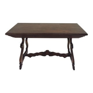 A. Rudin Portugese Trestle Console Table
