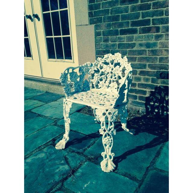 Antique Cast Iron Garden Bench - Image 8 of 11