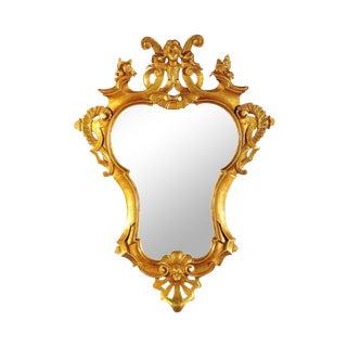 18th Century Gilt Rococo Mirror