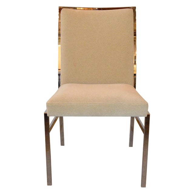 Image of Set of Six Newly Upholstered Pierre Cardin Dining Chairs