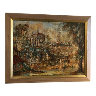 Original Oil Painting by M. Toyt