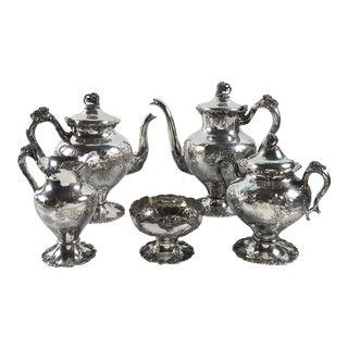 Silver-Plate Tea Set