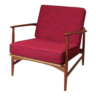Ib Kofod-Larson by Selig Mid-Century Lounge Chair