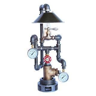 Vintage Brass Faucet Lamp