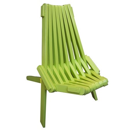 Laurel Wood Folding Chair - Image 6 of 8