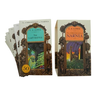 "C.S. Lewis ""The Chronicles of Narnia"" 50th Anniversary Edition Books- Set of 7"