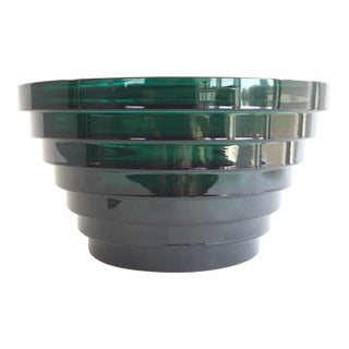 Aino Aalto for Iittala Green Glass Bowl